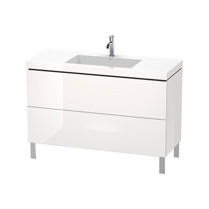 DURAVIT L-CUBE skrinka s umývadlom stojaca biela LC6939O2222