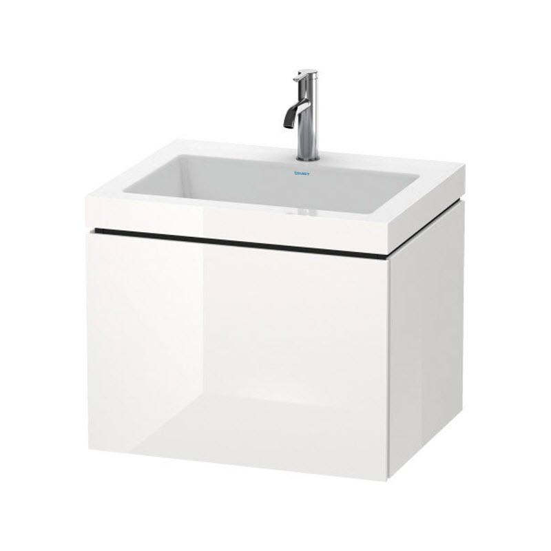 DURAVIT L-CUBE skrinka s umývadlom závesná biela LC6916O2222