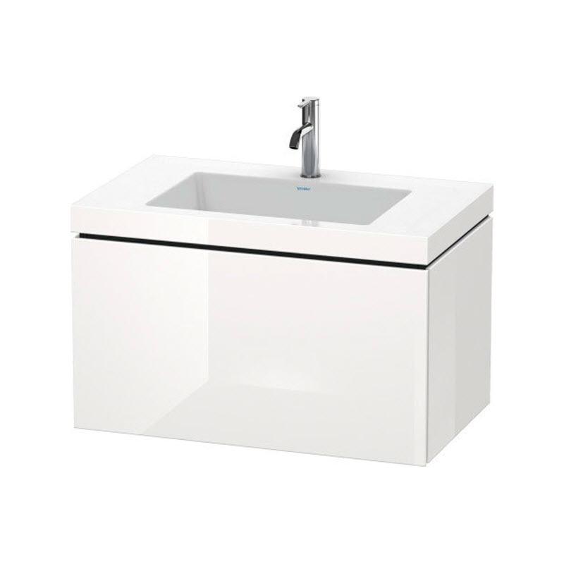 DURAVIT L-CUBE skrinka s umývadlom závesná biela LC6917O2222