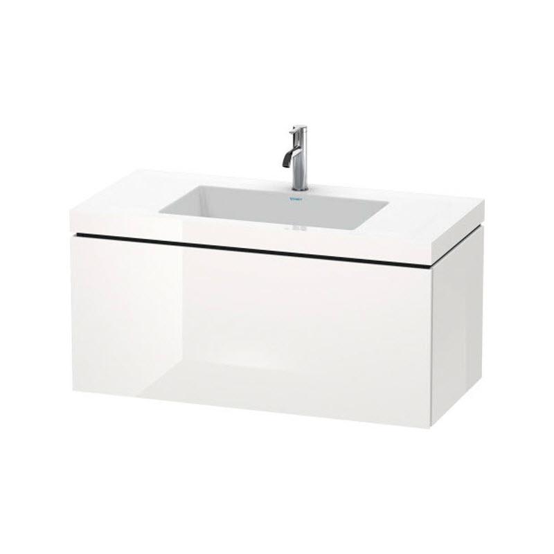 DURAVIT L-CUBE skrinka s umývadlom závesná biela LC6918O2222