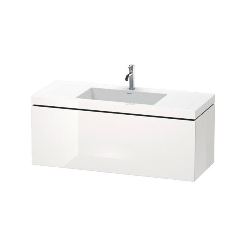DURAVIT L-CUBE skrinka s umývadlom závesná biela LC6919O2222