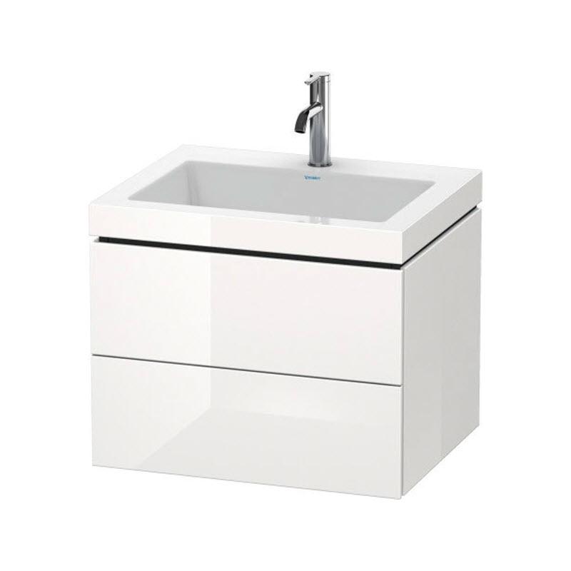 DURAVIT L-CUBE skrinka s umývadlom závesná biela LC6926O2222