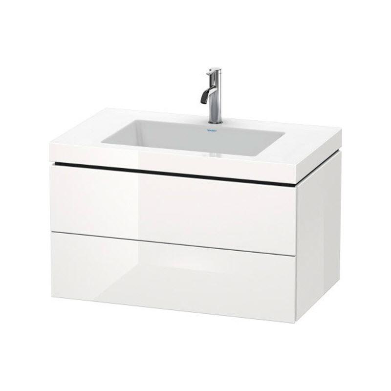 DURAVIT L-CUBE skrinka s umývadlom závesná biela LC6927O2222