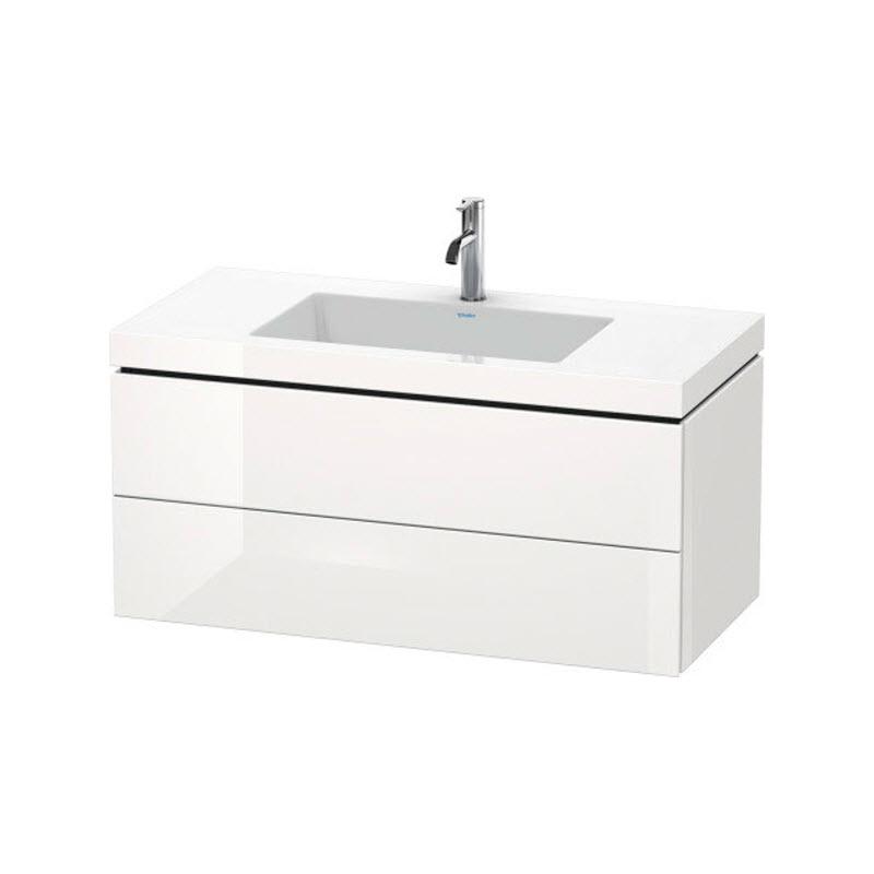 DURAVIT L-CUBE skrinka s umývadlom závesná biela LC6928O2222