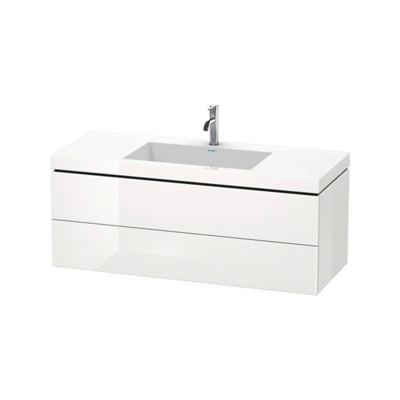 DURAVIT L-CUBE skrinka s umývadlom závesná biela LC6929O2222