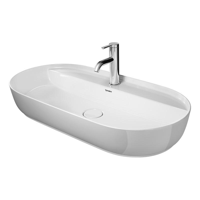 DURAVIT Luv 80 x 40 cm umývadlo na dosku 03808000001