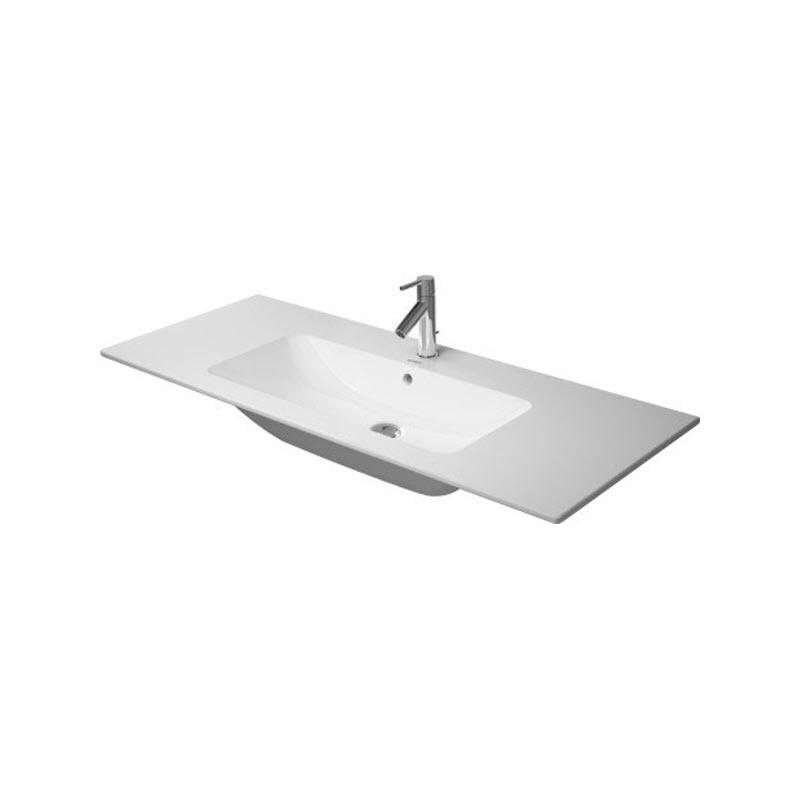 DURAVIT ME by Starck 123 x 49 cm nábytkové umývadlo biele s úpravou WonderGliss 23361200001