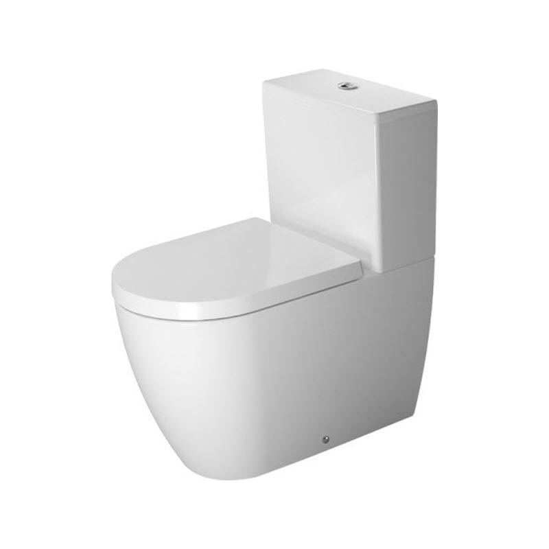 DURAVIT ME by Starck 37 x 65 cm WC kombi misa biela s glazúrou Hygiene Glaze 2170092000