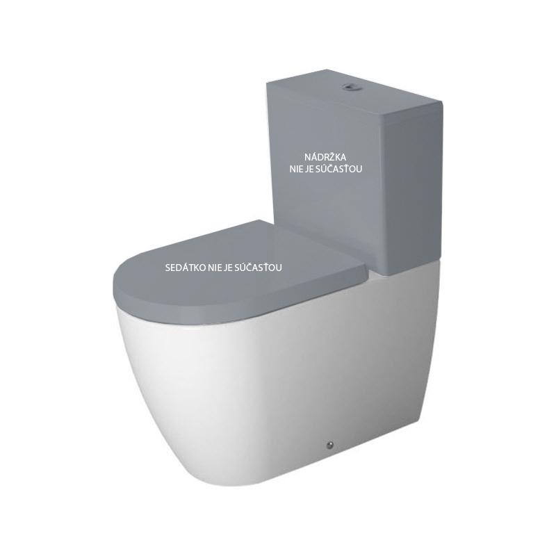DURAVIT ME by Starck 37 x 65 cm WC kombi misa, celokapotovaná, variabilný odpad, biela 2170090000