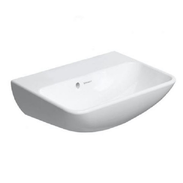 DURAVIT ME by Starck 45 x 32 cm umývadlo bez otvoru na batériu, biele 0719450010