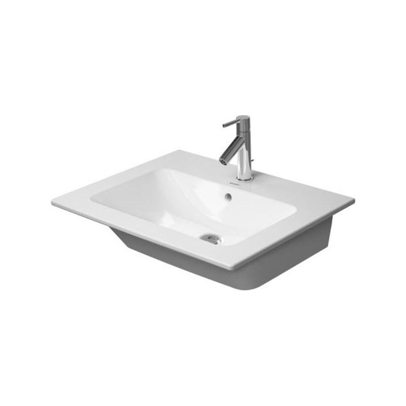 DURAVIT ME By Starck 63 x 49 cm nábytkové umývadlo s prepadom, biele 2336630000