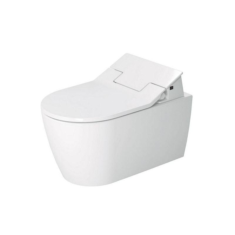 DURAVIT ME by Starck elektronická bidetová doska SensoWash Slim s keramikou, Rimless, SoftClose, alpská biela 631000002004300