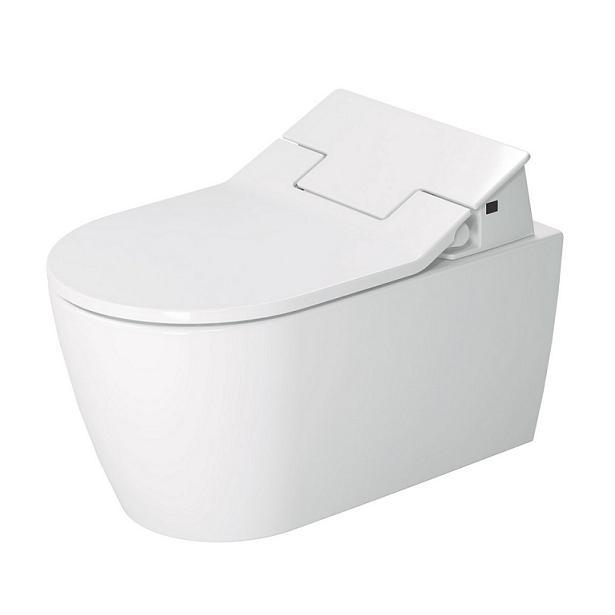 DURAVIT Me by Starck SensoWash závesná WC misa Rimless, Durafix, biela 2529590000