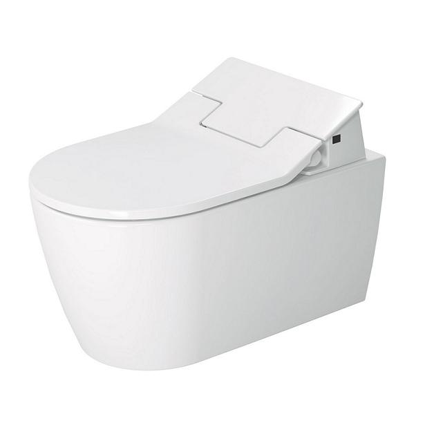 DURAVIT Me by Starck SensoWash závesná WC misa Rimless, Durafix s glazúrou Hygiene Glaze 2529592000