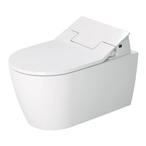 DURAVIT Me by Starck SensoWash závesná WC misa s glazúrou Hygiene Glaze 2528592000