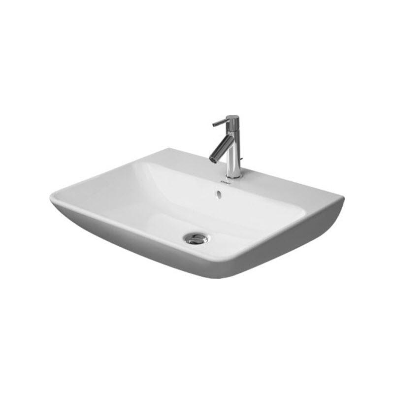 DURAVIT Me by Starck umývadlo 65 x 49 cm biele s prepadom 2335650000