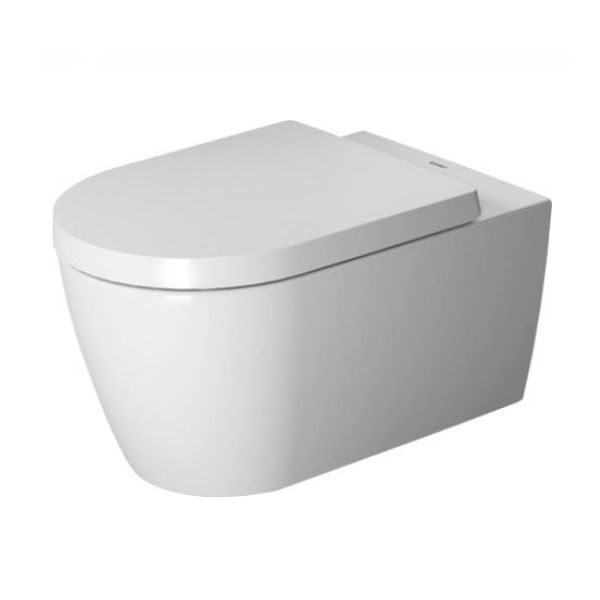 DURAVIT ME by Starck - Závesné WC, sedadlo SoftClose, Rimless, alpská biela 45290900A1