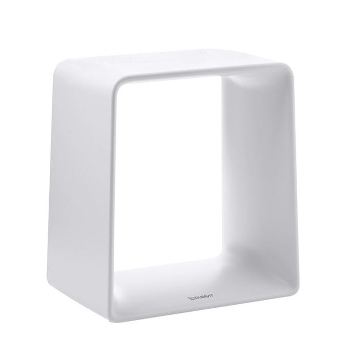 DURAVIT P3 Comforts SC 420 stolička do sprchového kúta matná biela 791877000000000