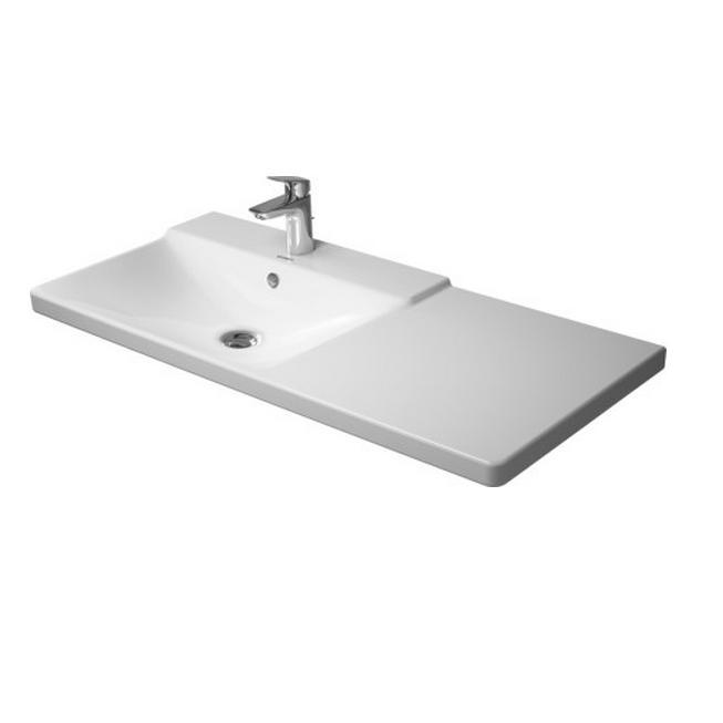 DURAVIT P3 Comforts umývadlo nábytkové 105cm ľavé asymetrické 2333100000