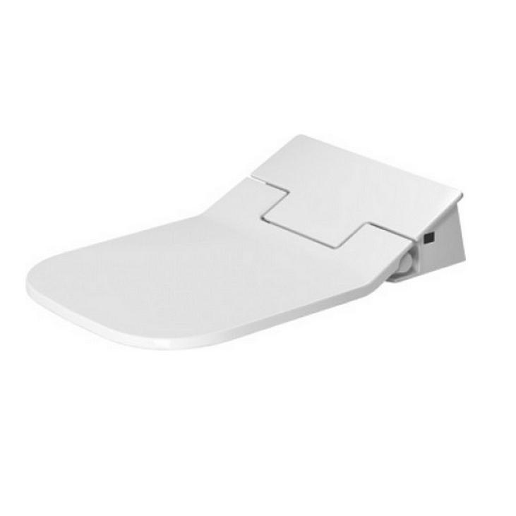 DURAVIT SensoWash Slim - Elektronická bidetová doska Slim, SoftClose, alpská biela 611400002004300