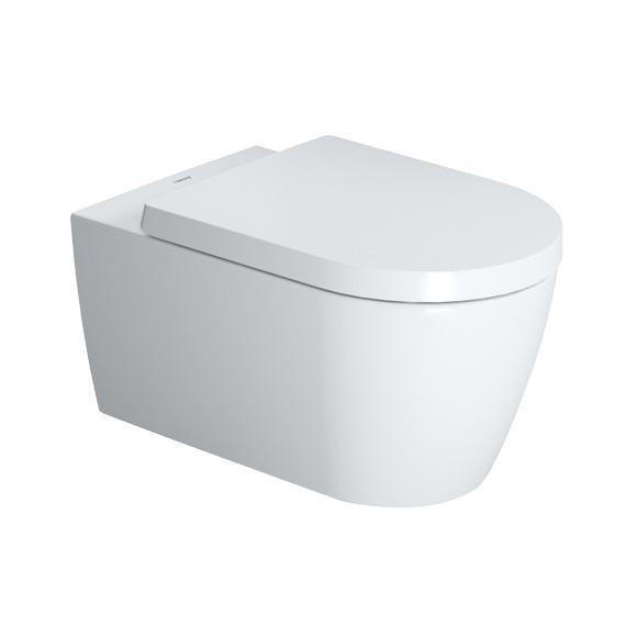 DURAVIT SET 2v1 misa  WC Me by Starck závesná Rimless so sedátkom 2529090A1