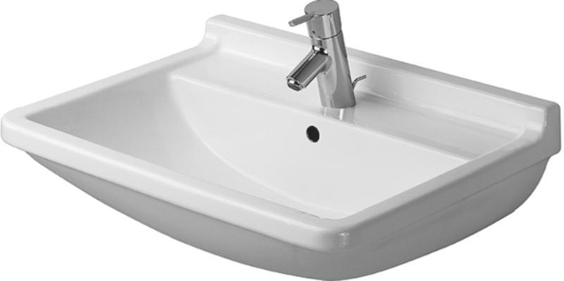 Duravit STARCK 3 umývadlo 65 x 48,5 cm biele 0300650000