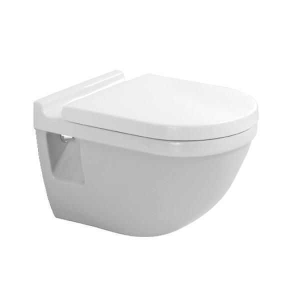 DURAVIT Starck 3 závesná WC misa 2200090000 so sedátkom SoftClose biela - set 42000900A1