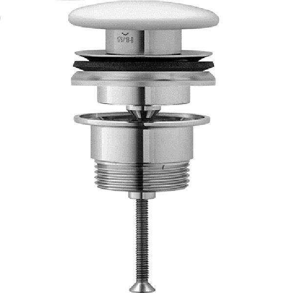 DURAVIT ventil umývadlový Push-Open s bielou krytkou 0050790000