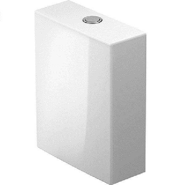 Duravit WHITE TULIP splachovacia nádržka 4,5/3 l ku kombi WC mise, pripojenie vľavo alebo vpravo, biela 0933100085