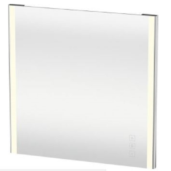 Duravit XSquare zrkadlo 800 x 800 mm s LED osvetlením XS7012