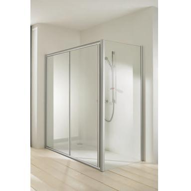 dvere sprchové atyp CLASSICS ELEGANCE 1900x... posuvné 2-dielne str. lesklá číre sklo AP