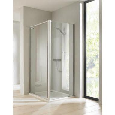 dvere sprchové atyp CLASSICS ELEGANCE pivotové str. lesklá číre sklo AP