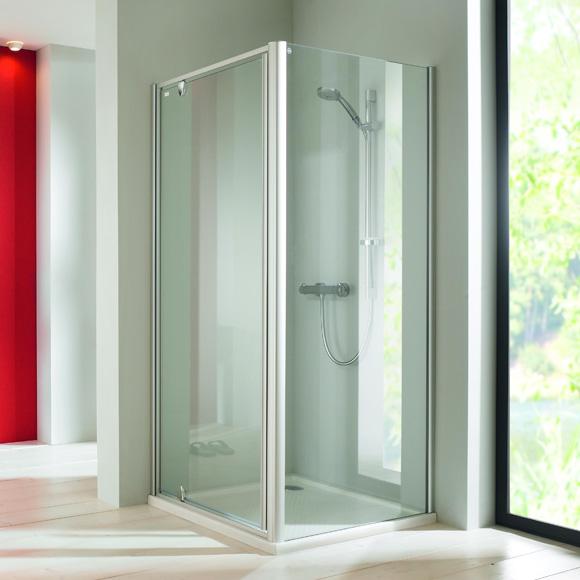 dvere sprchové CLASSICS ELEGANCE ST 750 pivotové str. lesklá číre sklo AP