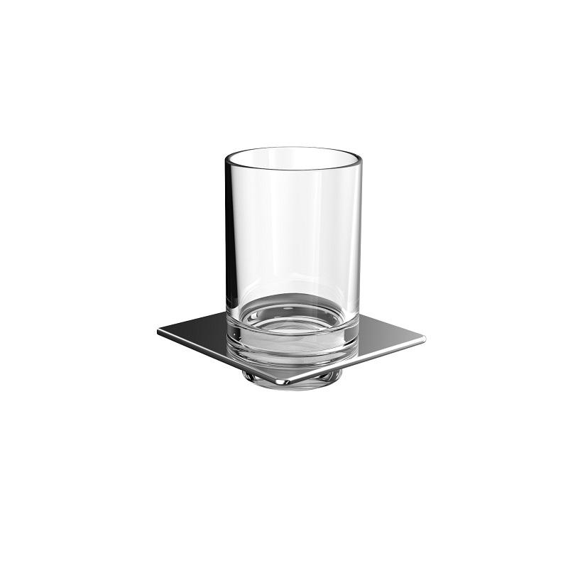 EMCO Art držiak s pohárom  chróm sklo 162000102