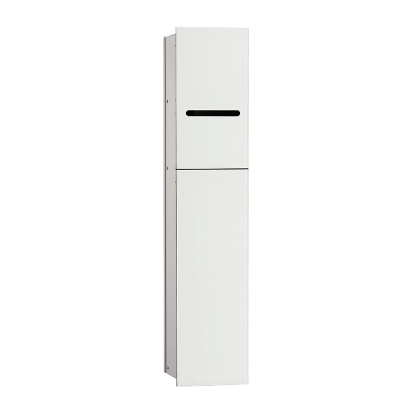 EMCO Asis 2.0 modul 81,1 x 17 cm biele sklo 975427450