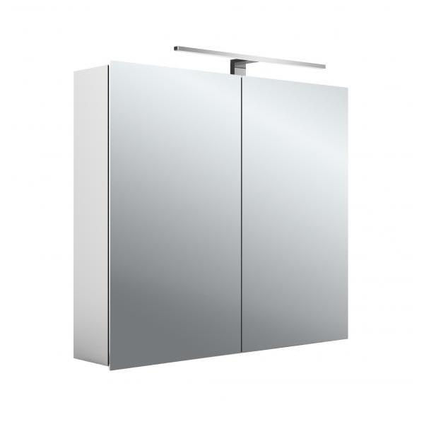 EMCO ASIS MEE 80X70 skrinka zrkadlová 2 dverová, 949805051