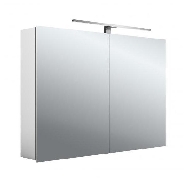 EMCO ASIS MEE zrkadlová skrinka 100x70cm, 2 dverová,korpus hliník, 949805052