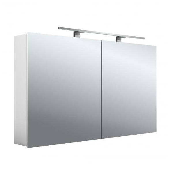 EMCO ASIS MEE zrkadlová skrinka 120X70cm, 2 dverová,korpus hliník, 949805053