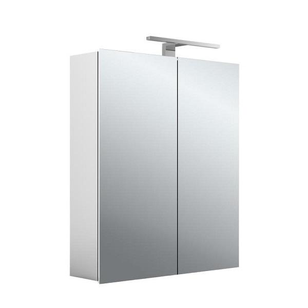 EMCO ASIS MEE zrkadlová skrinka 60X70cm, 2 dverová,korpus hliník 949805050