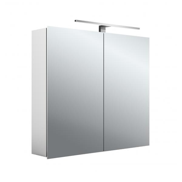 EMCO ASIS MEE zrkadlová skrinka 80X70cm, 2 dverová,korpus hliník 949805051