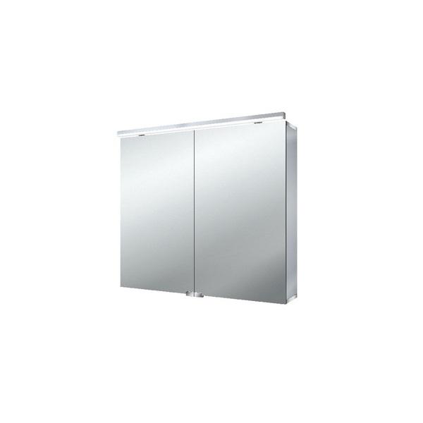 EMCO Asis Pure skrinka zrkaldová 80 cm s Led osvetlením 979705082