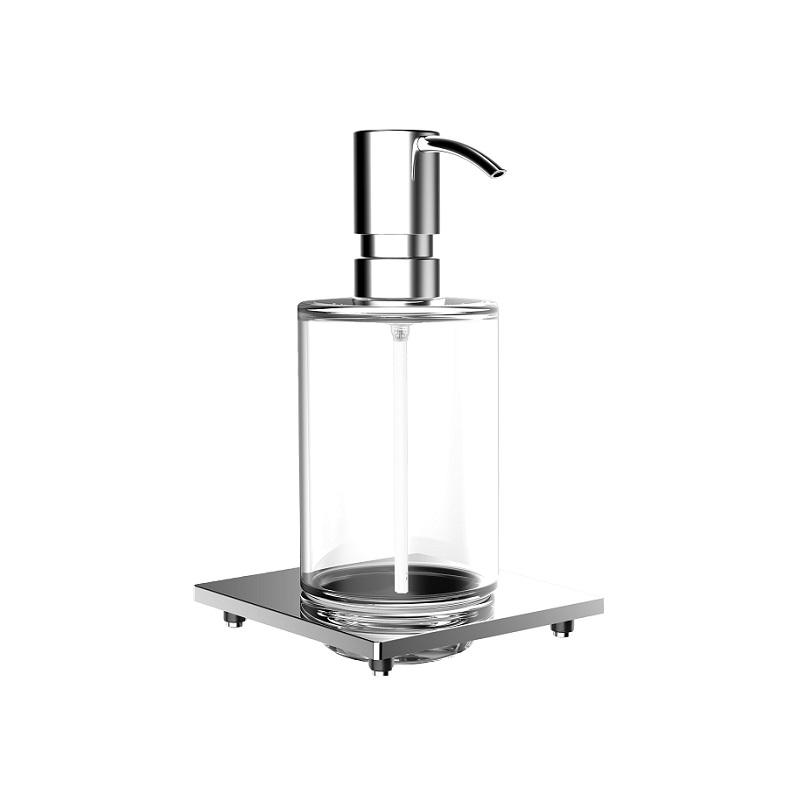 EMCO Liaison dávkovač mydla do koľajnice 240 ml sklo chróm 182100105