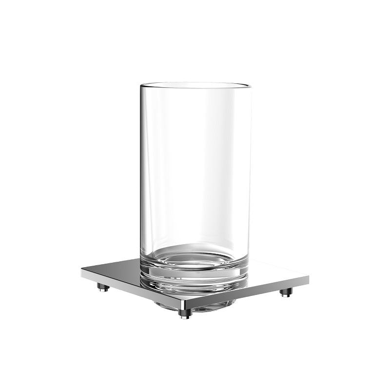 EMCO Liaison držiak s pohárom chróm sklo 182000102