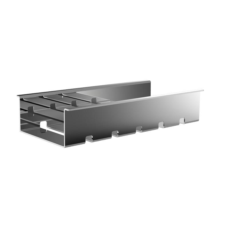 EMCO Liaison polička do koľajnice 192 x 97,5 x 39 mm chróm  184500100