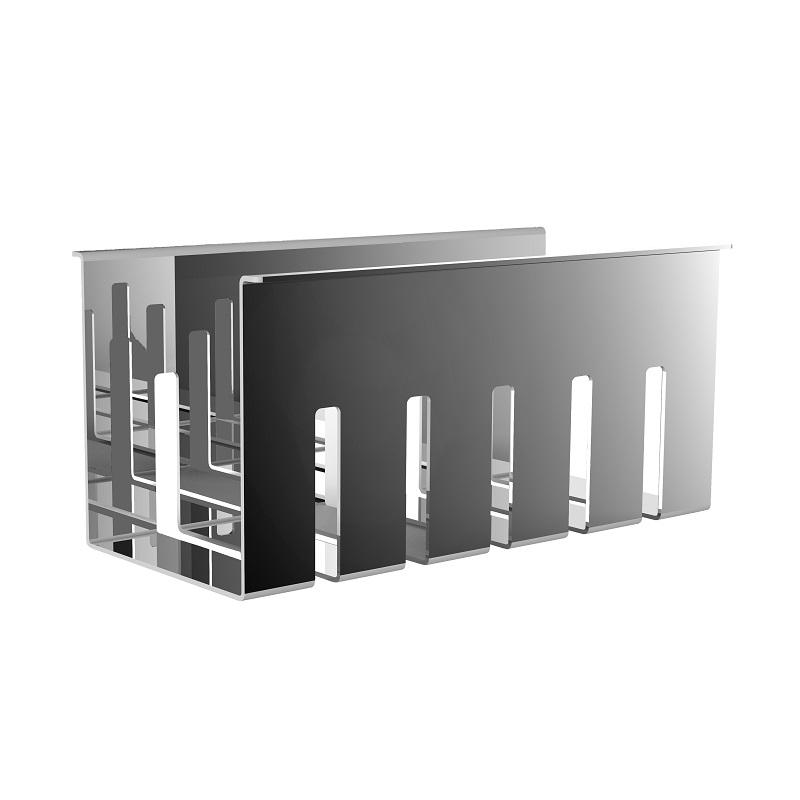 EMCO Liaison polička do koľajnice 192 x 97,5 x 91 mm chróm 184500101