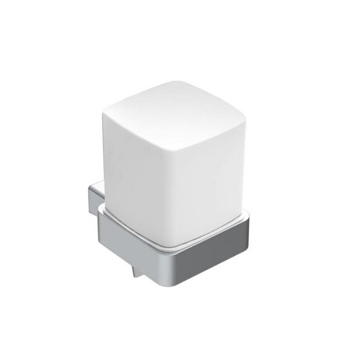 EMCO Loft dávkovač mydla 155 ml matný chróm/sklo 052100103