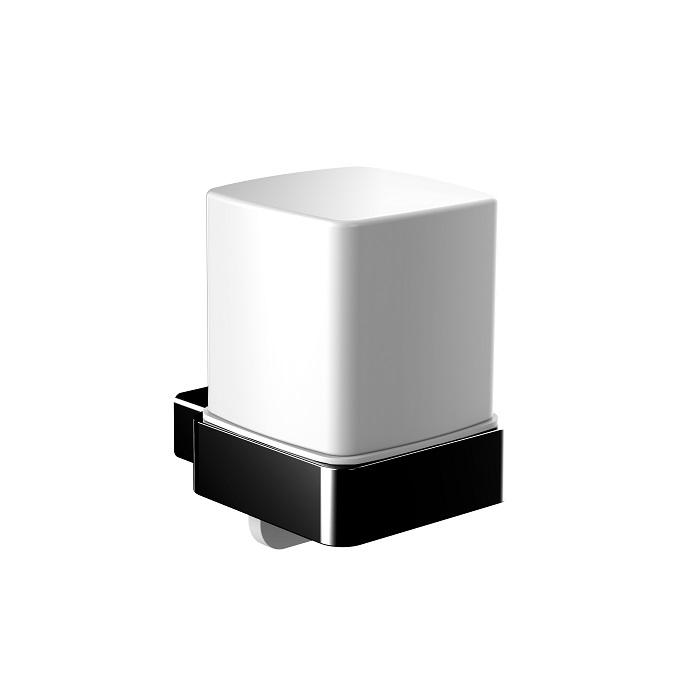 EMCO Loft dávkovač mydla nástenný sklo matný čierny 052113303
