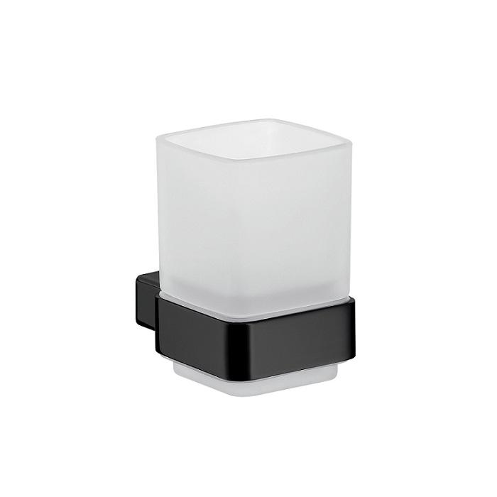 EMCO Loft držiak na pohár s pohárom matný čierny 052013300