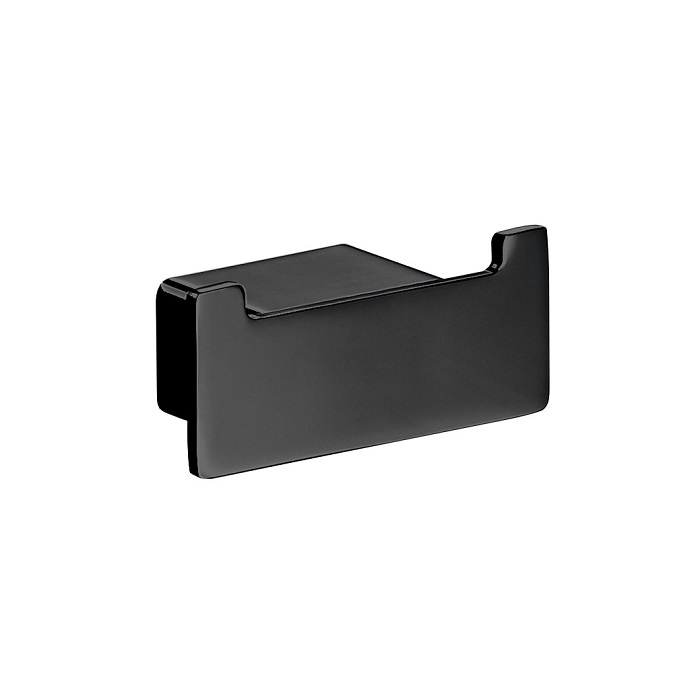 EMCO Loft háčik dvojitý matný čierny 057513302