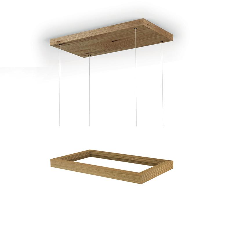 FABER 112.0516.432 obruba drevená + stropný držiak na odsávač FABER THEA ISOLA